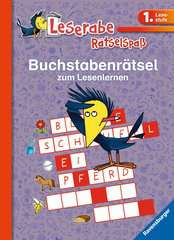 Buchstabenrätsel zum Lesenlernen (1. Lesestufe) - Bild 1 - Klicken zum Vergößern