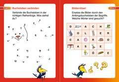 Buchstabenrätsel zum Lesenlernen (1. Lesestufe) - Bild 4 - Klicken zum Vergößern