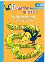 Wörterrätsel zum Lesenlernen (2. Lesestufe) - Bild 2 - Klicken zum Vergößern