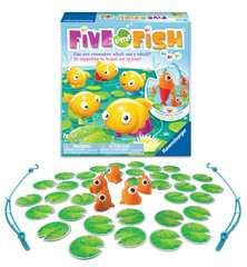Five Little Fish™ Game, Bilingual - image 3 - Click to Zoom