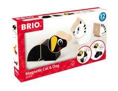 Magnet-Tiere Hund und Katze - Bild 1 - Klicken zum Vergößern