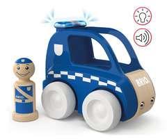 My Home Town Polizei-Flitzer mit Licht & Sound - Bild 4 - Klicken zum Vergößern