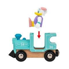 Donald & Daisy Duck Zug - Bild 5 - Klicken zum Vergößern