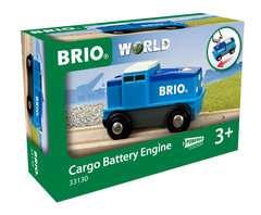Blaue Batterie Frachtlok - Bild 1 - Klicken zum Vergößern