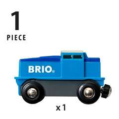 Blaue Batterie Frachtlok - Bild 5 - Klicken zum Vergößern