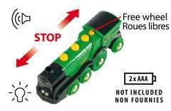 Grüner Gustav Batterielok - Bild 7 - Klicken zum Vergößern