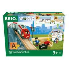 BRIO Eisenbahn Starter Set A - Bild 1 - Klicken zum Vergößern