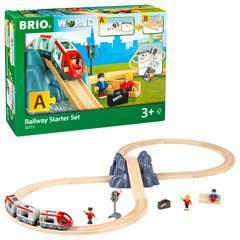 BRIO Eisenbahn Starter Set A - Bild 2 - Klicken zum Vergößern