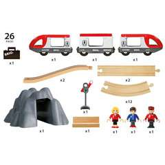 BRIO Eisenbahn Starter Set A - Bild 12 - Klicken zum Vergößern