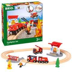 BRIO Bahn Feuerwehr Set  TV Artikel - Bild 6 - Klicken zum Vergößern