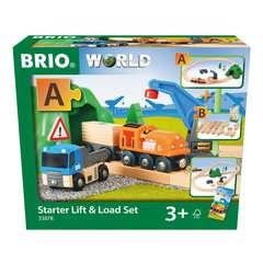 Starterset Güterzug mit Kran - Bild 1 - Klicken zum Vergößern