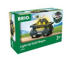 Goldwaggon mit Licht - Bild 1 - Klicken zum Vergößern