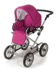 BRIO Puppenwagen Combi, Rose - Bild 4 - Klicken zum Vergößern