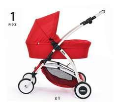 Puppenwagen Spin rot - Bild 11 - Klicken zum Vergößern