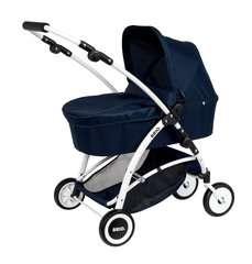 BRIO Puppenwagen Spin blau mit Schwenkrädern - Bild 6 - Klicken zum Vergößern