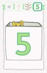 Lernen Lachen Selbermachen: Erste Zahlen - Bild 5 - Klicken zum Vergößern