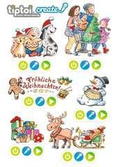 tiptoi® REWE Weihnachtssticker - Bild 1 - Klicken zum Vergößern