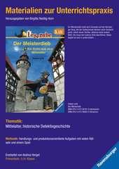 Materialien zur Unterrichtspraxis - Fabian Lenk: Der Meisterdieb (Schulausgabe in Broschur) - Bild 1 - Klicken zum Vergößern
