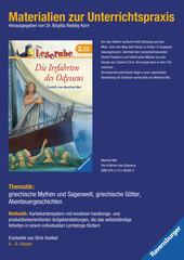 Materialien zur Unterrichtspraxis - Manfred Mai: Die Irrfahrten des Odysseus Bücher;Materialien zur Unterrichtspraxis Ravensburger