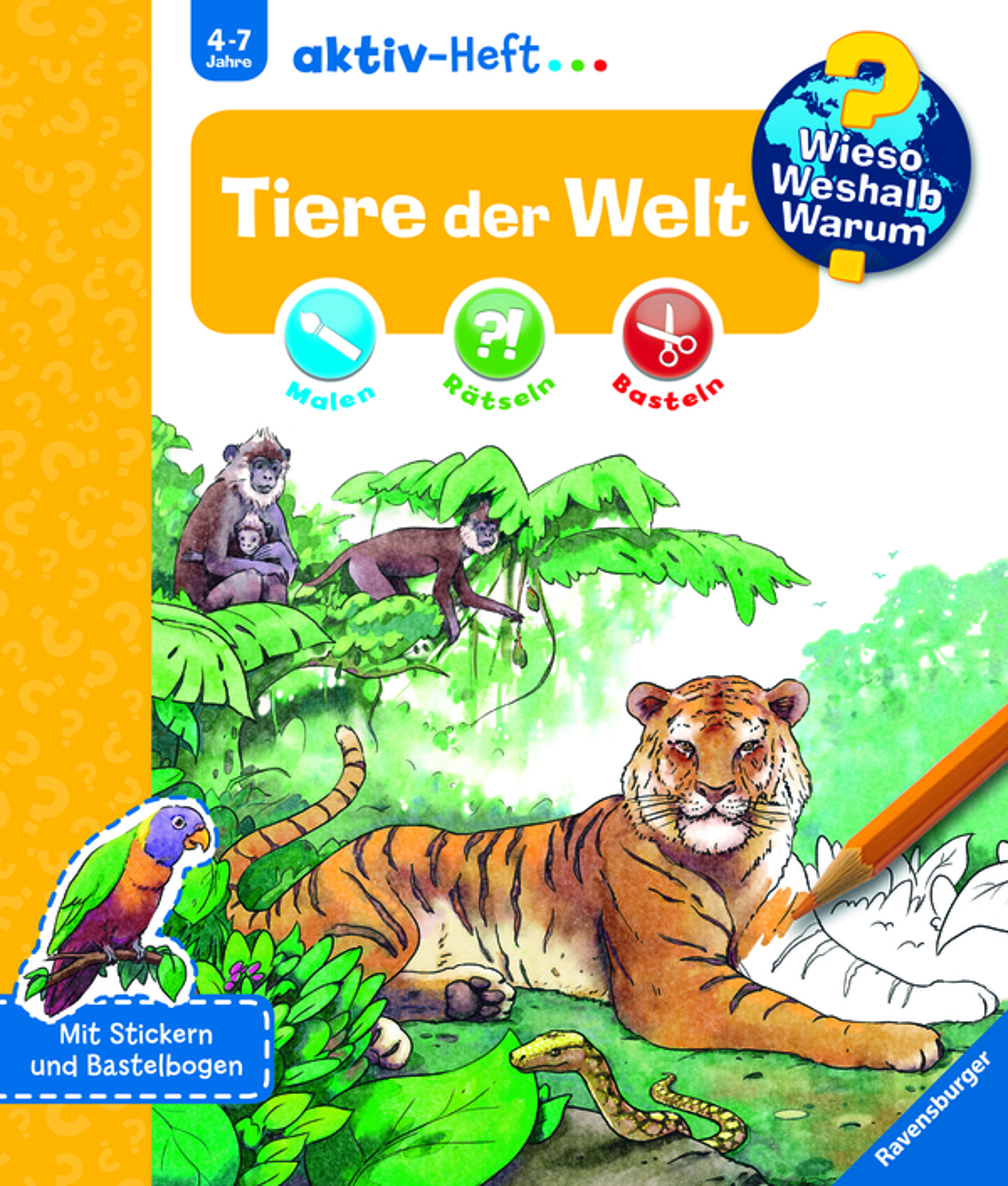 Tiere Der Welt Wieso Weshalb Warum Kinderbücher Produkte