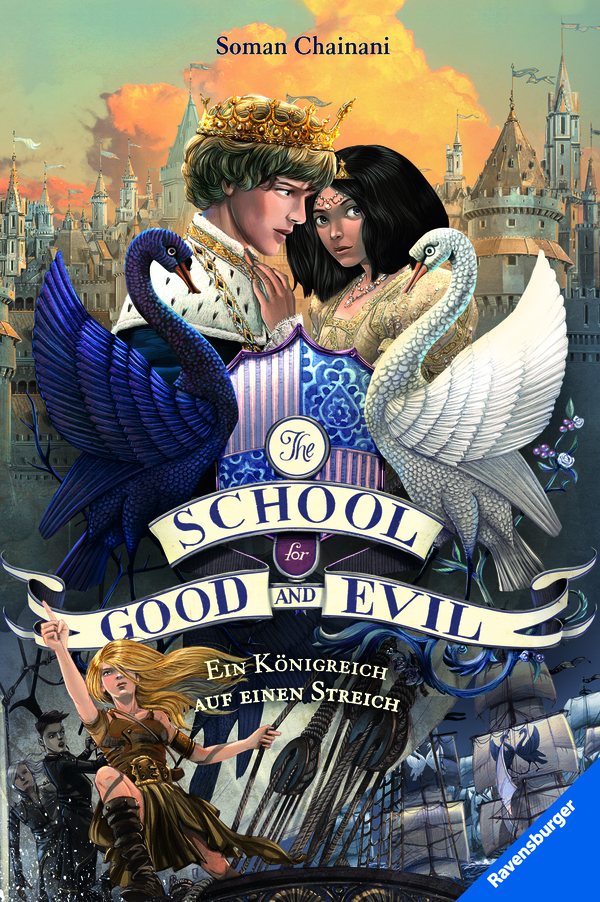 The School For Good And Evil Band 4 Ein Königreich Auf Einen
