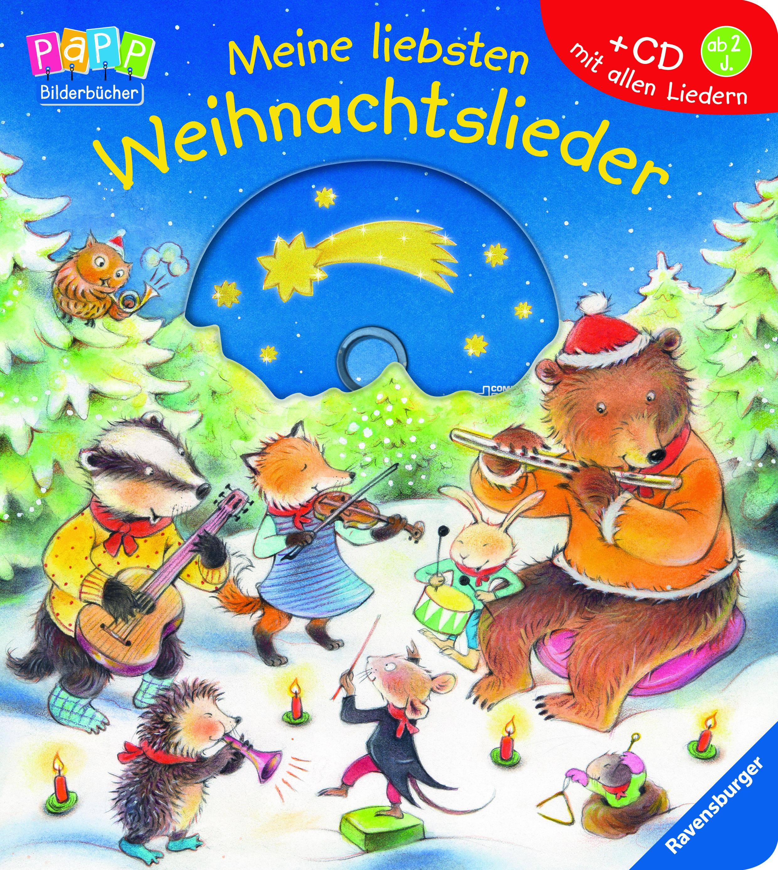 Meine liebsten Weihnachtslieder   Babybücher und Pappbilderbücher ...