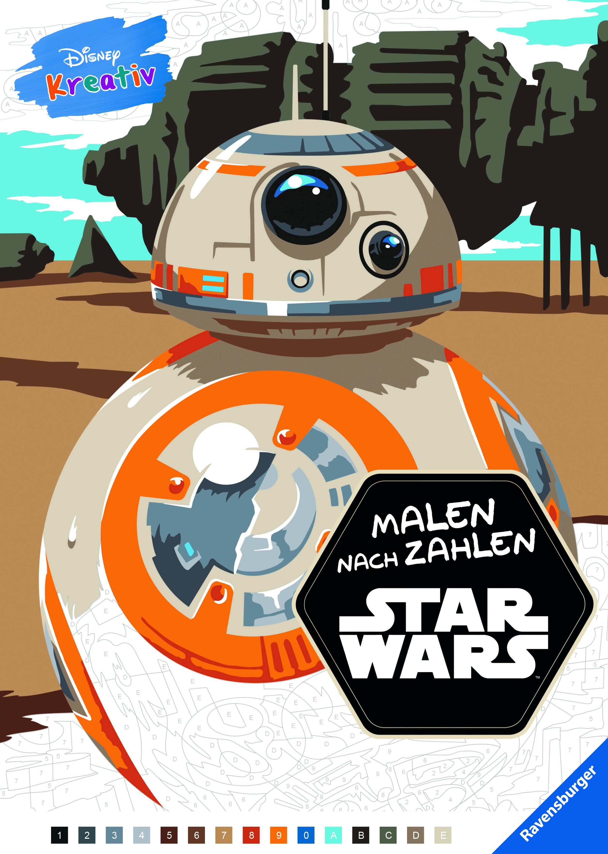 Disney kreativ: Star Wars™ Malen nach Zahlen | Malbücher und ...