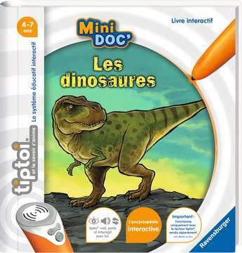 tiptoi® - Mini Doc  - Les dinosaures tiptoi®;Livres tiptoi® - Image 1 - Ravensburger