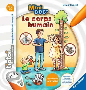 tiptoi® - Mini Doc  - Le corps humain tiptoi®;tiptoi® livres - Image 1 - Ravensburger