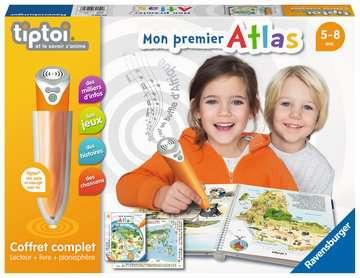 tiptoi® - Coffret complet lecteur interactif + Livre Atlas tiptoi®;Lecteur et coffrets complets tiptoi® - Image 1 - Ravensburger