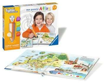 tiptoi® - Coffret complet lecteur interactif + Livre Atlas tiptoi®;Lecteur et coffrets complets tiptoi® - Image 3 - Ravensburger
