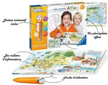 tiptoi® - Coffret complet lecteur interactif + Livre Atlas tiptoi®;Lecteur et coffrets complets tiptoi® - Image 5 - Ravensburger