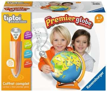 tiptoi® - Coffret complet lecteur interactif + Mon 1er Globe interactif tiptoi®;Lecteur et coffrets complets tiptoi® - Image 1 - Ravensburger