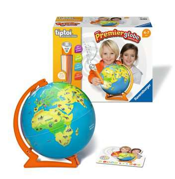 tiptoi® - Coffret complet lecteur interactif + Mon 1er Globe interactif tiptoi®;Lecteur et coffrets complets tiptoi® - Image 3 - Ravensburger