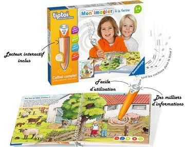 tiptoi® - Coffret complet lecteur interactif + Livre Imagier A la ferme tiptoi®;Lecteur et coffrets complets tiptoi® - Image 5 - Ravensburger