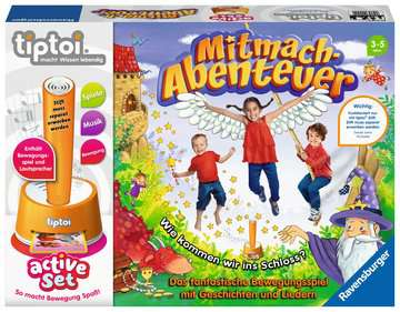 tiptoi® active Set Mitmach-Abenteuer tiptoi®;tiptoi® Spiele - Bild 1 - Ravensburger