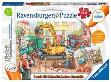 00049 tiptoi® Puzzle tiptoi® Puzzle für kleine Entdecker: Baustelle von Ravensburger 1