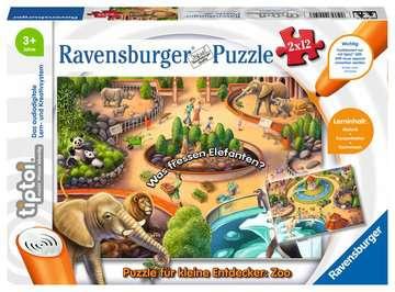 00051 tiptoi® Puzzle tiptoi® Puzzle für kleine Entdecker: Zoo von Ravensburger 1