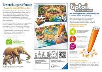 00051 tiptoi® Puzzle tiptoi® Puzzle für kleine Entdecker: Zoo von Ravensburger 2
