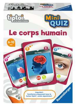 tiptoi® - Mini Quiz - Le corps humain tiptoi®;Jeux tiptoi® - Image 1 - Ravensburger