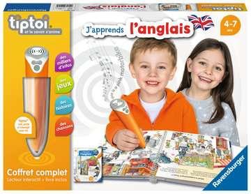 tiptoi® - Coffret complet lecteur interactif + Livre J apprends l anglais tiptoi®;Lecteur et coffrets complets tiptoi® - Image 1 - Ravensburger