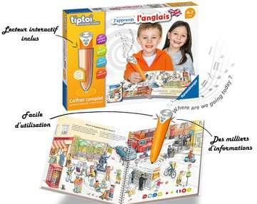 tiptoi® - Coffret complet lecteur interactif + Livre J apprends l anglais tiptoi®;Lecteur et coffrets complets tiptoi® - Image 3 - Ravensburger