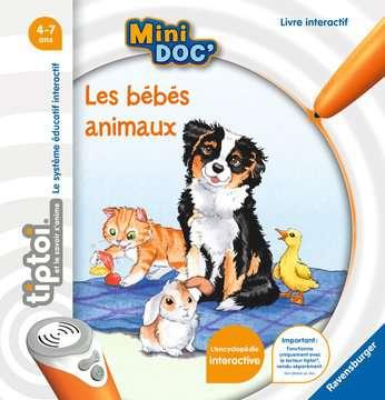 tiptoi® - Mini Doc  - Les bébés animaux tiptoi®;Livres tiptoi® - Image 1 - Ravensburger