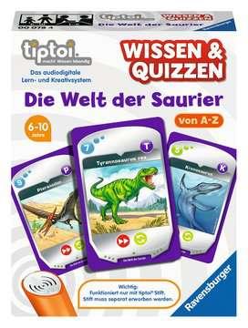 00078 tiptoi® Spiele Wissen und Quizzen: Die Welt der Saurier von Ravensburger 1