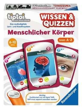 00080 tiptoi® Spiele Wissen & Quizzen: Menschlicher Körper von Ravensburger 1