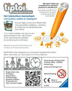 tiptoi® - Quizzen & weetjes: Gevaarlijke roofdieren tiptoi®;tiptoi® de spellen - image 2 - Ravensburger