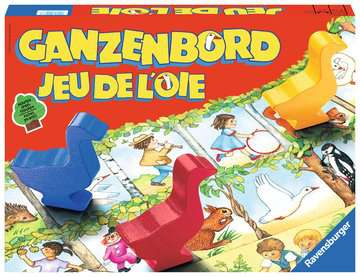 Ganzenbord Spellen;Vrolijke kinderspellen - image 1 - Ravensburger