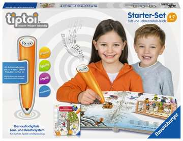 00506 tiptoi® Starter-Sets tiptoi® Starter-Set: Stift und Jahreszeiten-Buch von Ravensburger 1