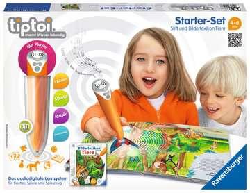 tiptoi® Starter-Set: Stift und Bilderlexikon Tiere tiptoi®;tiptoi® Starter-Sets - Bild 1 - Ravensburger