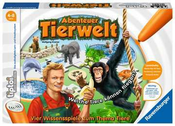 00513 Lernspiele tiptoi® Abenteuer Tierwelt von Ravensburger 1